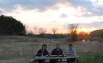 Sunset , pizza , Colin, Susie & Stephen