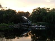 KSR pond.